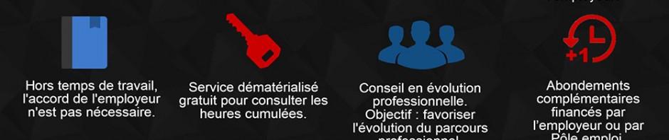 L'infographie du CPF